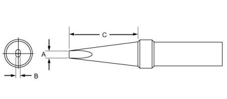 Weller PTA7 Screwdriver Tip