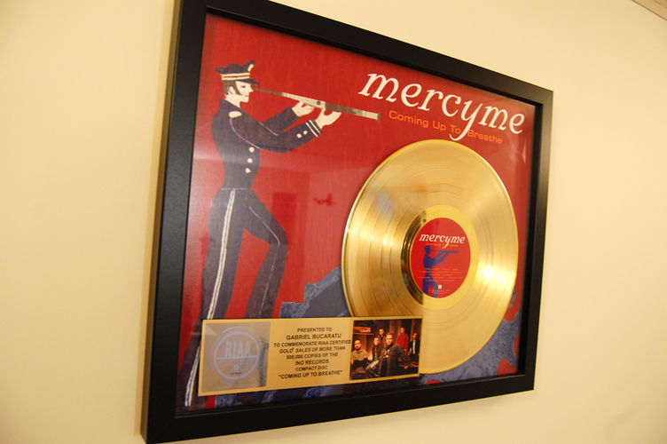 MercyMe Gold Disc