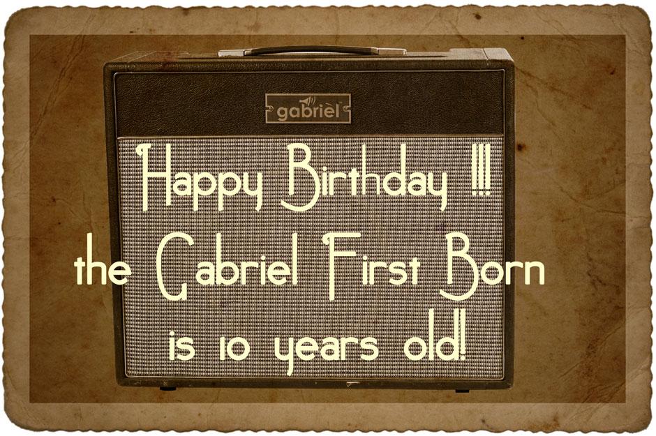 the First Born Gabriel 18 watt amplifier
